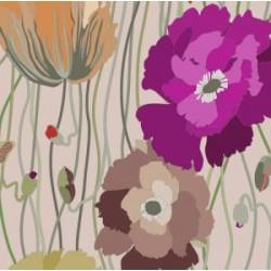 Подушки з квітами та метеликами