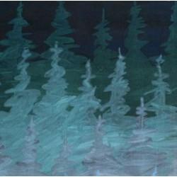 Подушки Пейзаж, лес и горы