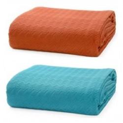 Покривала та подушки однокольорові