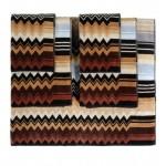 Giacomo Набор из 5 полотенец color 160, 40x70, 70х115, 100х150 Missoni Home