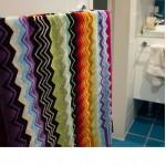 Giacomo Набор из 5 полотенец color T59, 40x70, 70х115, 100х150 Missoni Home