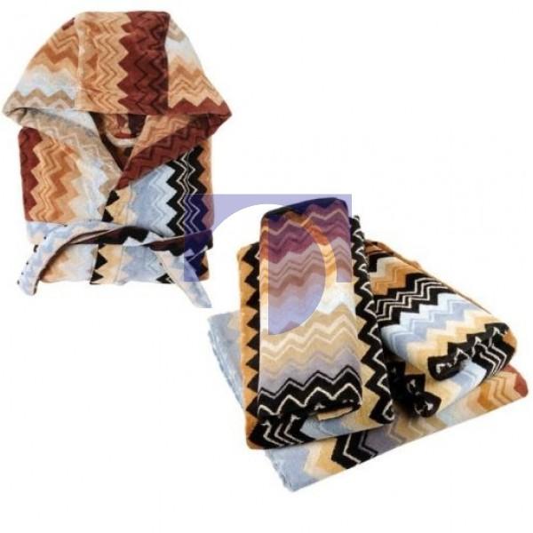 Комплект: халат и 5 полотенец Giacomo color 160, Missoni Home