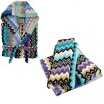 Комплект: халат и 5 полотенец Giacomo color 170, Missoni Home