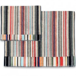 Warren color 100 Набор полотенец 40x70 и 70х115 Missoni Home