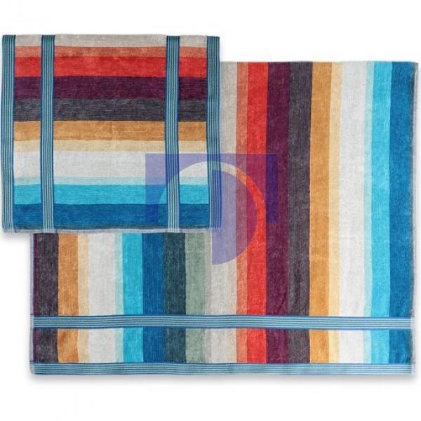 Woody color 100 Набор полотенец 40x70 и 70х115 Missoni Home