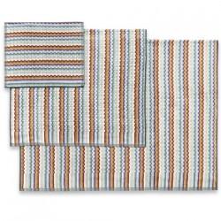 Yvar color 165 Набор из 5 полотенец 40x70, 70х115, 100х150 Missoni Home