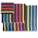 Vasilij color 160 Набор из 5 полотенец 40x70, 70х115, 100х150 Missoni Home