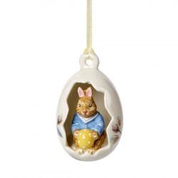 Подвеска Кролик Макс в яйце 4 см Bunny Tales Villeroy & Boch