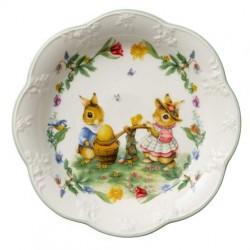 Блюдо пасхальное Кролики 24 см Spring Fantasy Villeroy & Boch