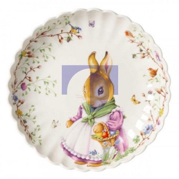 Блюдо пасхальное Крольчиха Мама Эмма 30 см Spring Fantasy Villeroy & Boch
