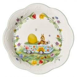 Блюдо пасхальное Кролики 30 см Spring Fantasy Villeroy & Boch