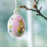 Подвеска Яйцо с пасхальными кроликами 7,5 см Spring Fantasy Villeroy & Boch
