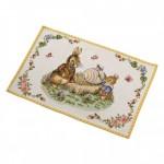 Коврик под тарелку Кролики Дедушка и Макс 32х48 см Spring Fantasy Villeroy & Boch