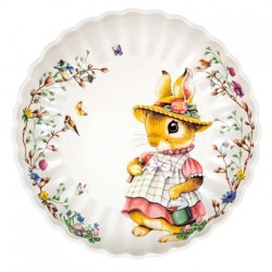 Блюдо пасхальное Крольчиха Анна 24 см Spring Fantasy Villeroy & Boch