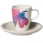 Блюдце к чашке для эспрессо 12 см Artesano Flower Art Villeroy & Boch