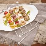 Блюдо сервировочное L 41x22 см и шампуры 28 см 6 шт. в наборе BBQ Passion Villeroy & Boch