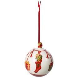 Подвеска Елочный шарик года 8 см Annual Christmas Edition 2019 Villeroy & Boch