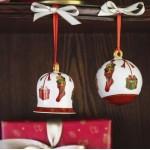 Подвеска Колокольчик года 7 см Annual Christmas Edition 2019 Villeroy & Boch
