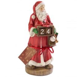 Фигурка-календарь Санта 22,8 см Christmas Toys Villeroy & Boch