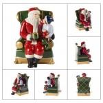 Фигурка Санта в кресле 15 см Christmas Toys Villeroy & Boch