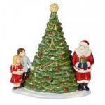 Подсвечник для чайной свечи Санта у елки 23 см Christmas Toys Villeroy & Boch