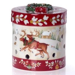 Шкатулка - подсвечник для чайной свечи 10 см Christmas Toys Villeroy & Boch