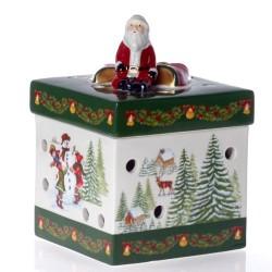 Шкатулка - подсвечник для чайной свечи 13 см Christmas Toys Villeroy & Boch