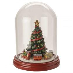 Елка под стеклянным куполом 19,5 см Christmas Toys Villeroy & Boch