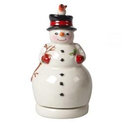 Музыкальная фигурка Снеговик 15 см Nostalgic Melody Villeroy & Boch
