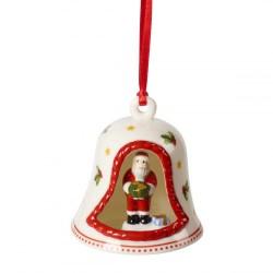 Подвеска Колокольчик с Сантой 7 см My Christmas Tree Villeroy & Boch