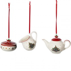 Подвески Посуда 6,3 см набор из 3 предметов Toy's Delight Decoration Villeroy & Boch