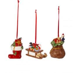 Подвески Подарки набор из 3 предметов Nostalgic Ornaments Villeroy & Boch