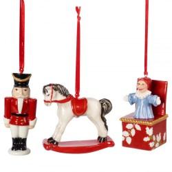 Подвески Игрушки набор из 3 предметов Nostalgic Ornaments Villeroy & Boch