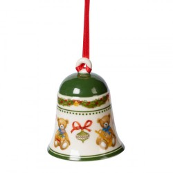 Подвеска колокольчик Мишки 7 см My Christmas Tree Villeroy & Boch