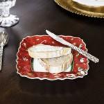 Тарелка пирожковая квадратная красная 17 см Toy's Delight Villeroy & Boch