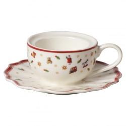 Подсвечник для чайной свечи Чашка с блюдцем Toy's Delight Decoration Villeroy & Boch