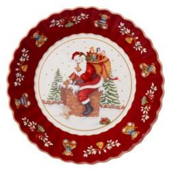 Пиала большая Санта на крыше 25 см Toys Fantasy Villeroy & Boch
