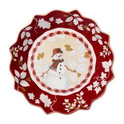 Пиала большая Снеговик 25 см Toys Fantasy Villeroy & Boch