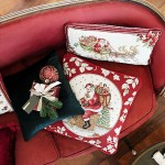 Гобеленовая подушка Сани Санты 32x48 см Toys Fantasy Villeroy & Boch