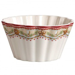 Пиала в форме кекса, мотив Лошадка 7x5 см, 0,63 л Winter Bakery Delight Villeroy & Boch