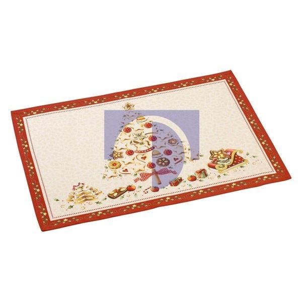 Коврик под тарелку гобелен 35x50 см Килимок під тарілку 35x50 см Winter Bakery Villeroy & Boch