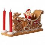 Подсвечник Пряничные сани Winter Bakery Decoration Villeroy & Boch