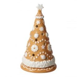 Пряничная елка 15 см Подсвечник с чайной свечей Winter Bakery Decoration Villeroy & Boch
