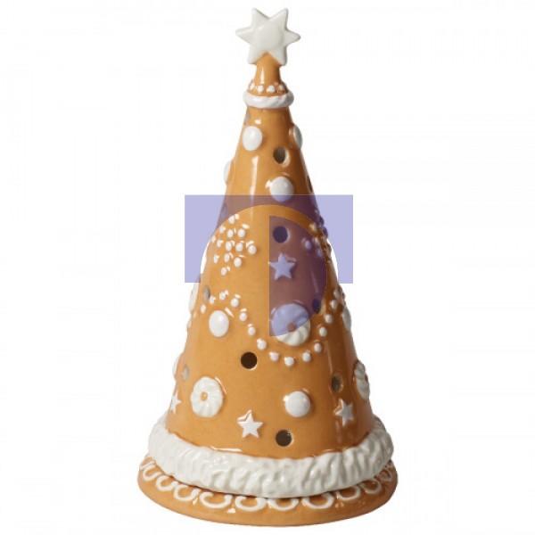 Пряничная елка 21 см Подсвечник с чайной свечей  Winter Bakery Decoration  Villeroy & Boch