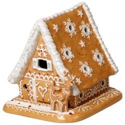 Пряничный домик 15x13x14 см с чайной свечей Winter Bakery Decoration Villeroy & Boch
