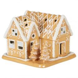 Пряничный домик 16x16x13 см с чайной свечей Winter Bakery Decoration Villeroy & Boch