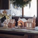 Пряничная церковь 17x13x20см с чайной свечей Winter Bakery Decoration Villeroy & Boch