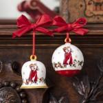 Подвеска Елочный шарик года 8 см Annual Christmas Edition 2020 Villeroy & Boch