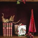 Музыкальная шкатулка - подсвечник для чайной свечи Елка 20 см Christmas Toys Villeroy & Boch