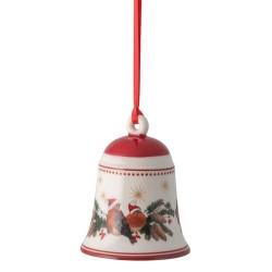 Подвеска колокольчик красный 7 см My Christmas Tree Villeroy & Boch